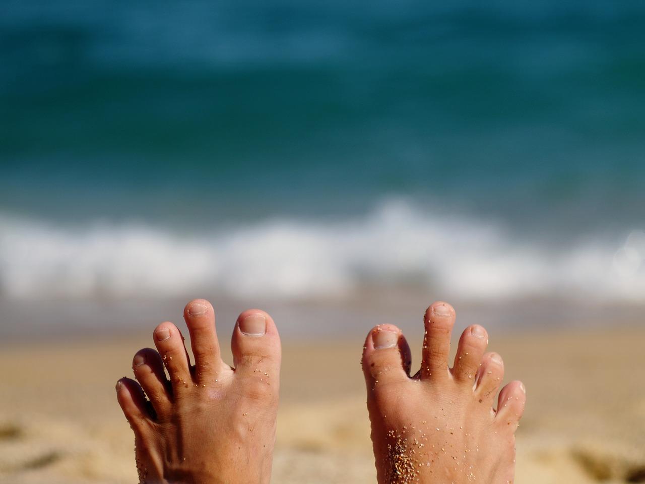 Beach, Nail