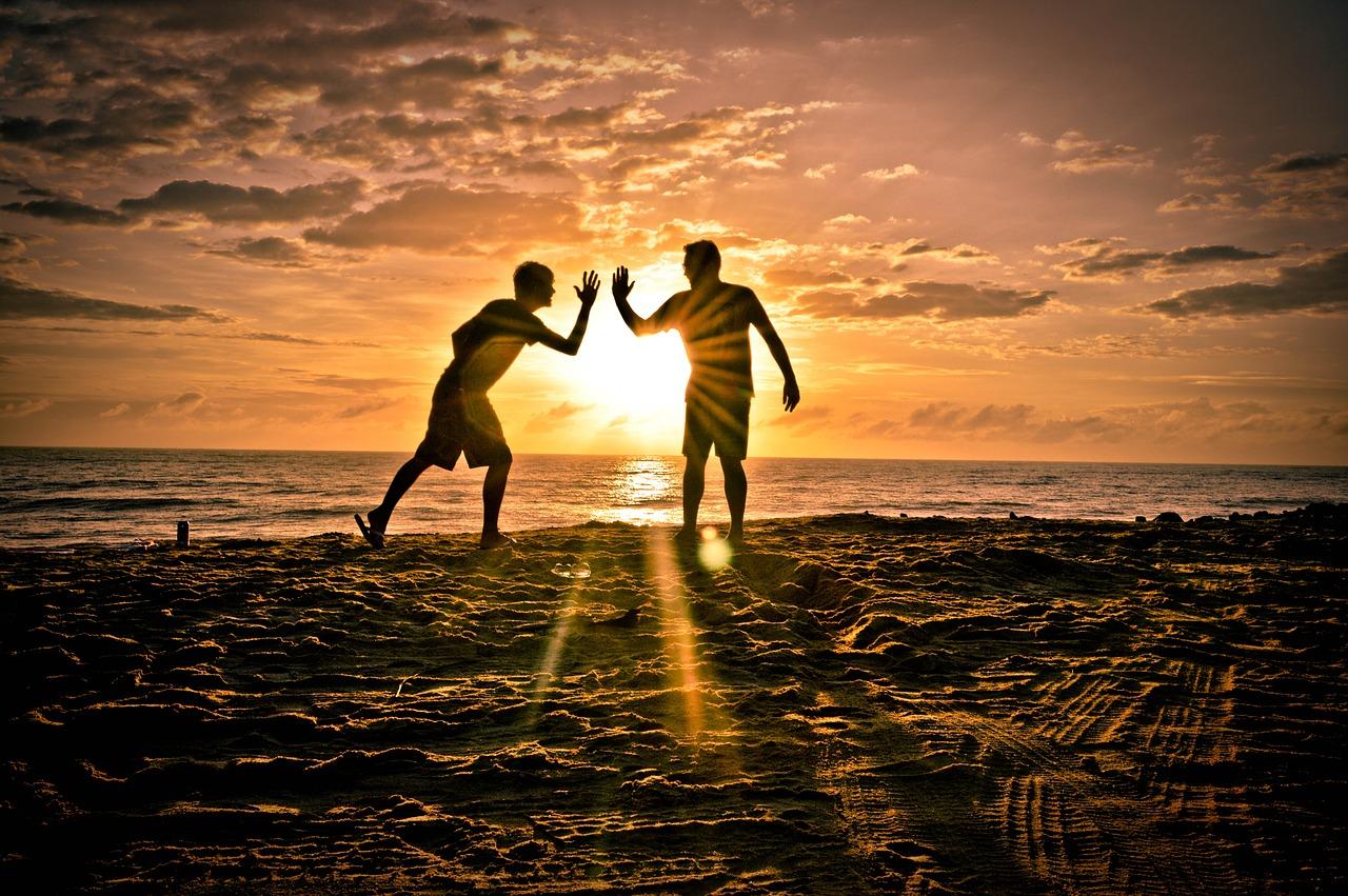 Friends, Beach
