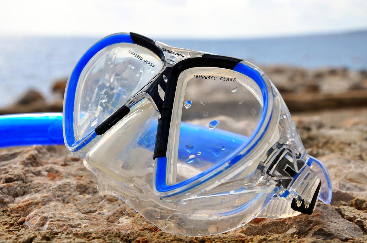 水中マスク