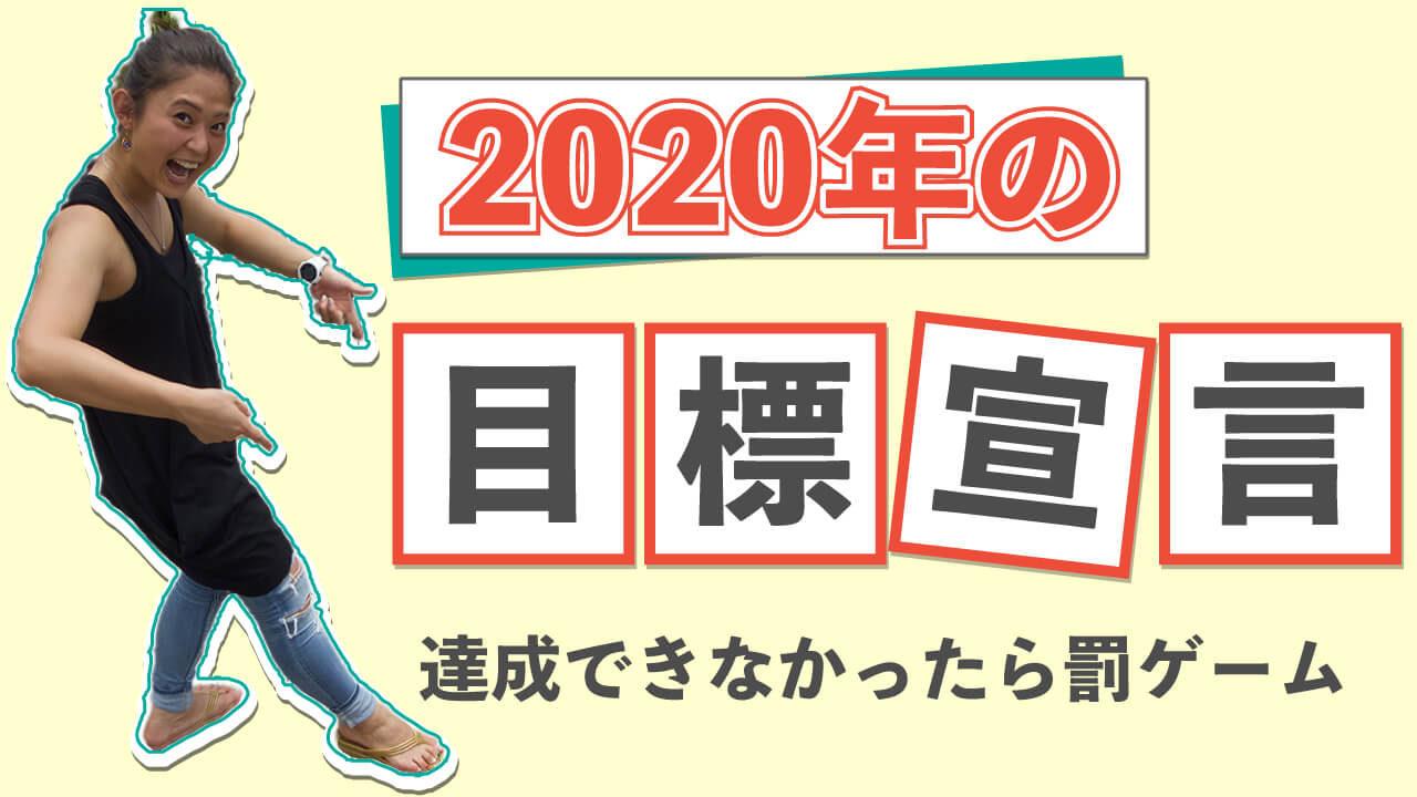 2020年目標宣言